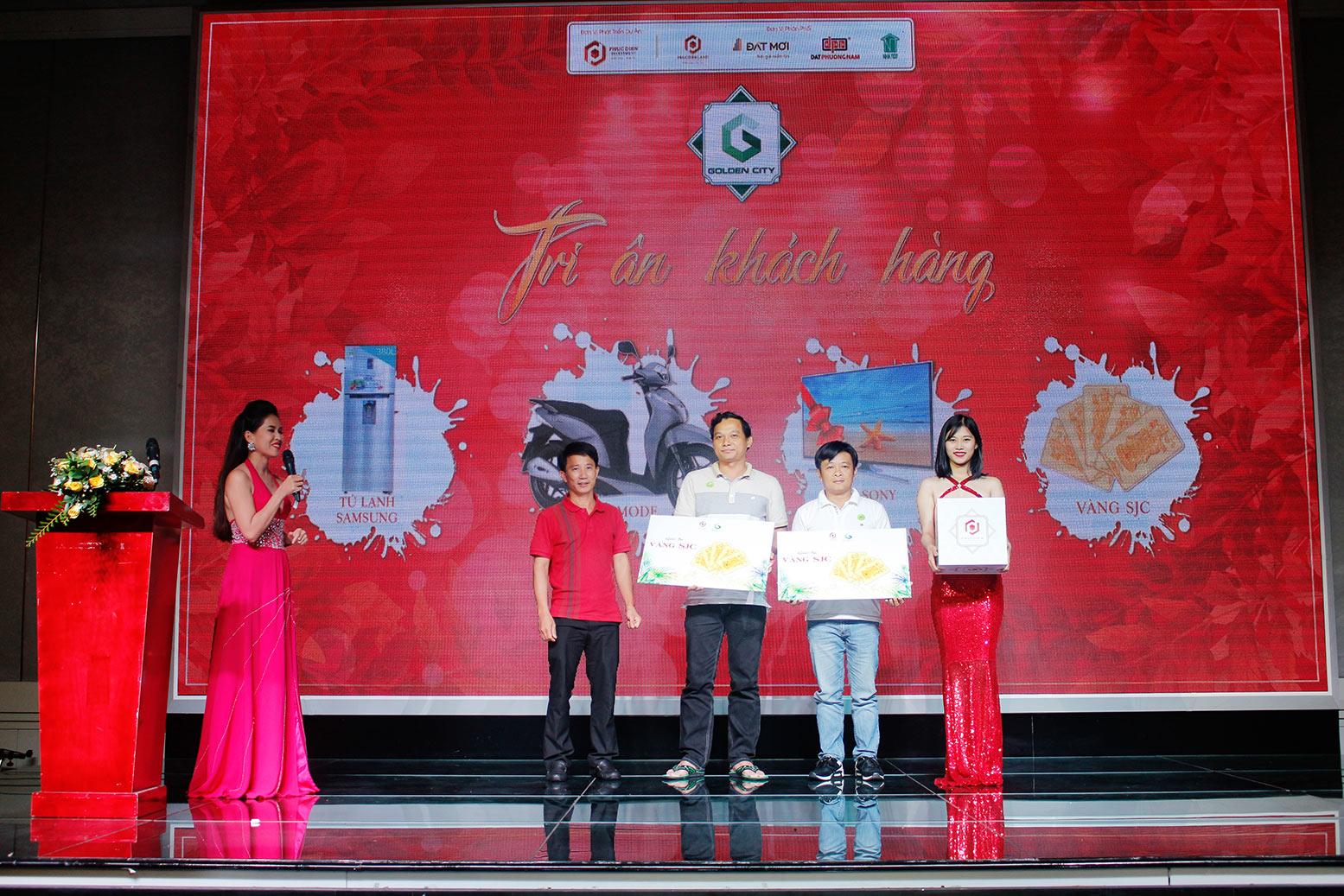 Hơn 90% giao dịch thành công tại buổi lễ công bố giai đoạn 1 KDC Golden City 1