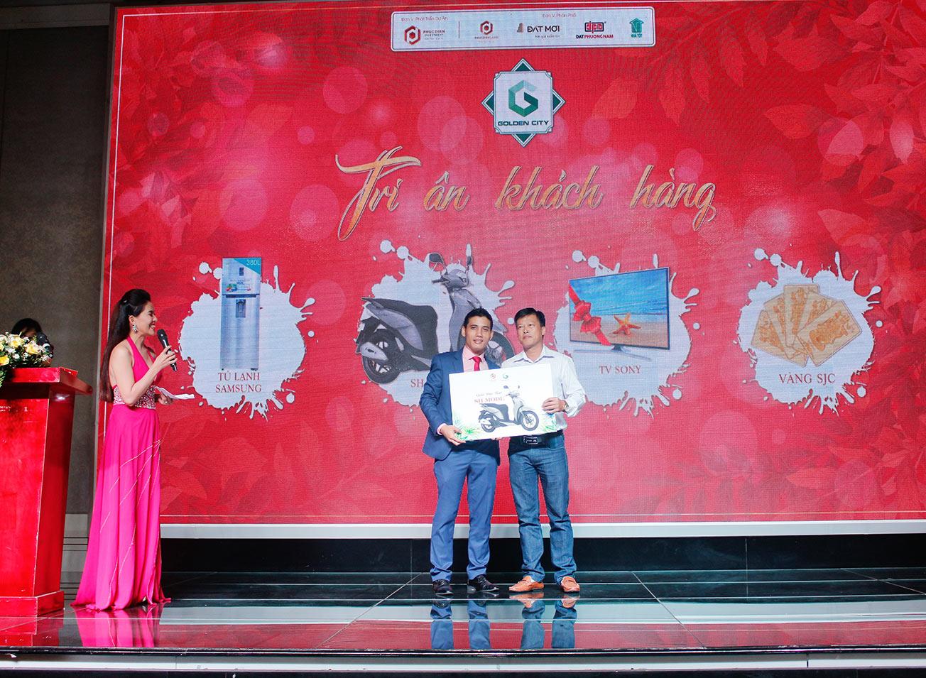 Hơn 90% giao dịch thành công tại buổi lễ công bố giai đoạn 1 KDC Golden City 3