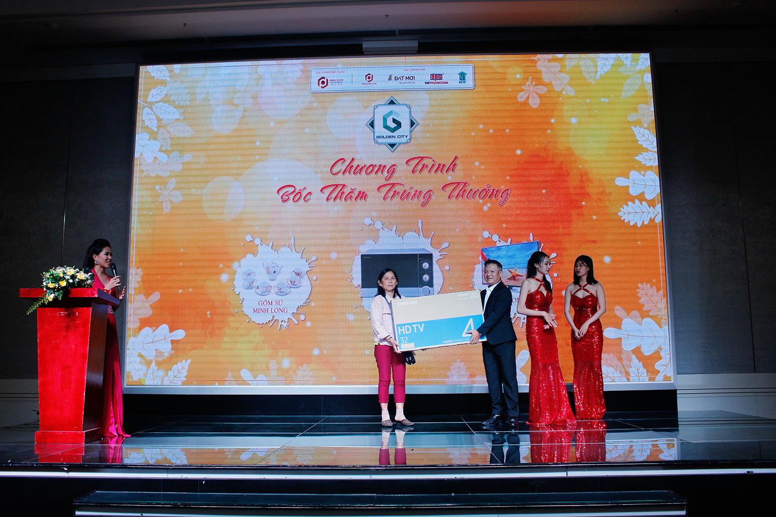 Hơn 90% giao dịch thành công tại buổi lễ công bố giai đoạn 1 KDC Golden City 4
