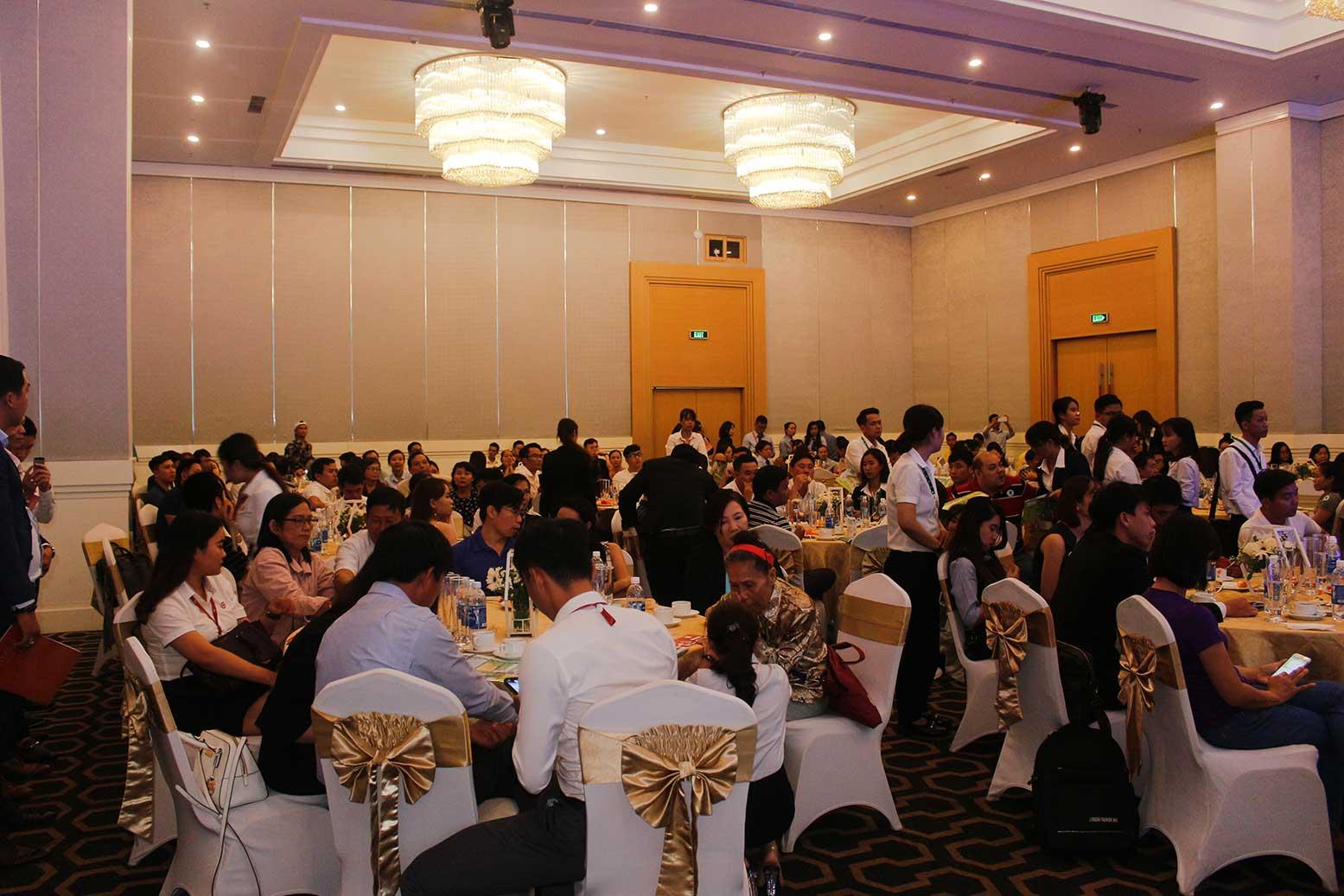 Hơn 90% giao dịch thành công tại buổi lễ công bố giai đoạn 1 KDC Golden City 13