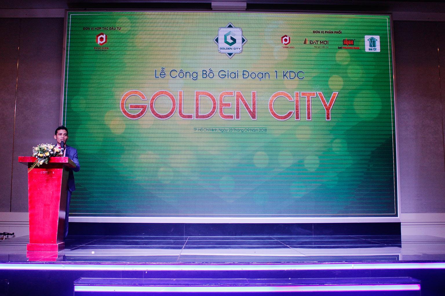 Hơn 90% giao dịch thành công tại buổi lễ công bố giai đoạn 1 KDC Golden City 6