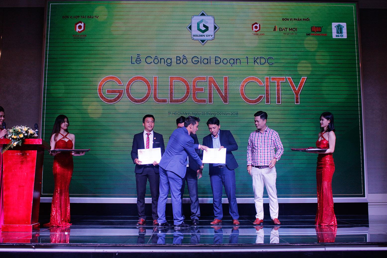 Hơn 90% giao dịch thành công tại buổi lễ công bố giai đoạn 1 KDC Golden City 7