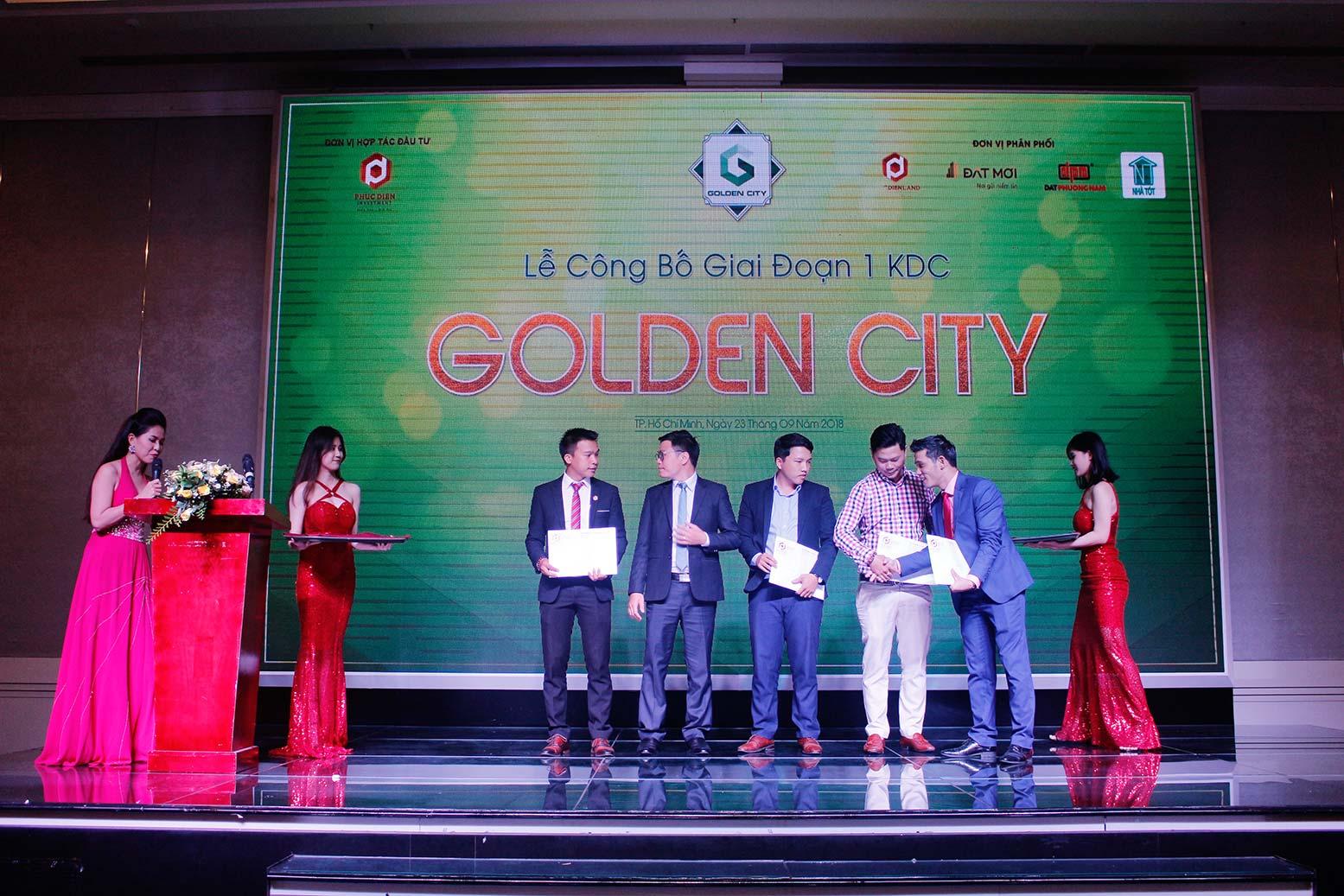 Hơn 90% giao dịch thành công tại buổi lễ công bố giai đoạn 1 KDC Golden City 8