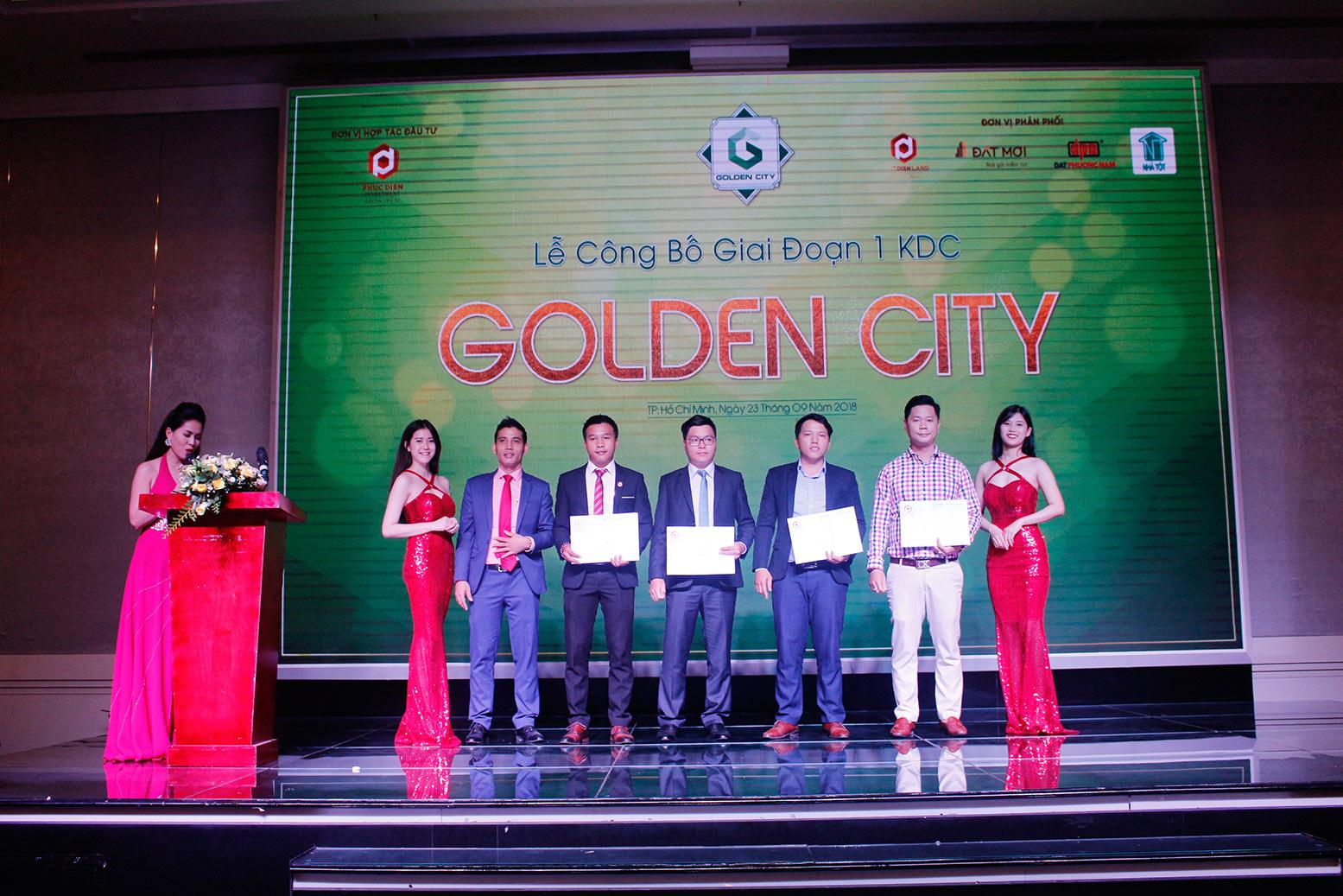 Hơn 90% giao dịch thành công tại buổi lễ công bố giai đoạn 1 KDC Golden City 9