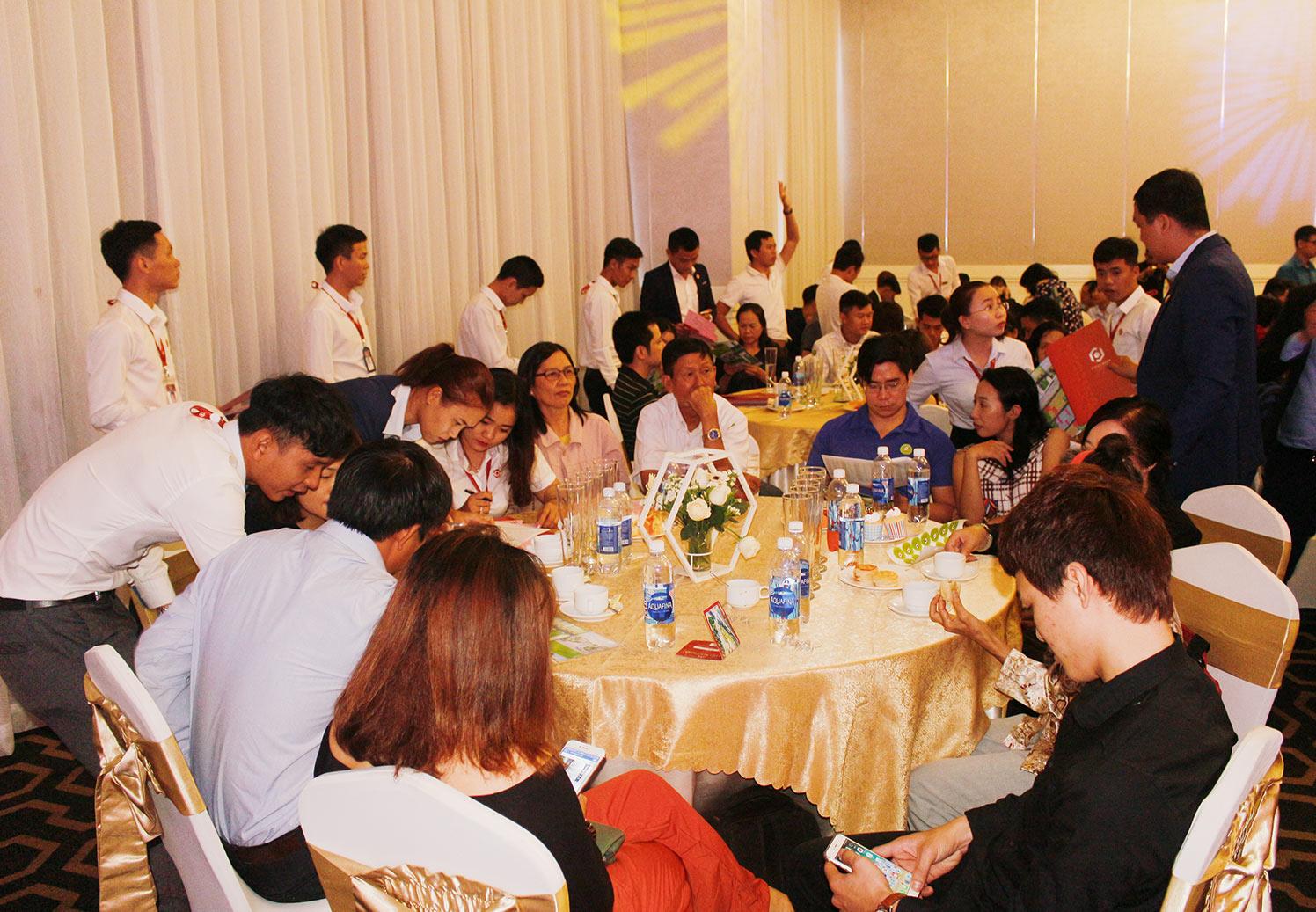 Hơn 90% giao dịch thành công tại buổi lễ công bố giai đoạn 1 KDC Golden City 14