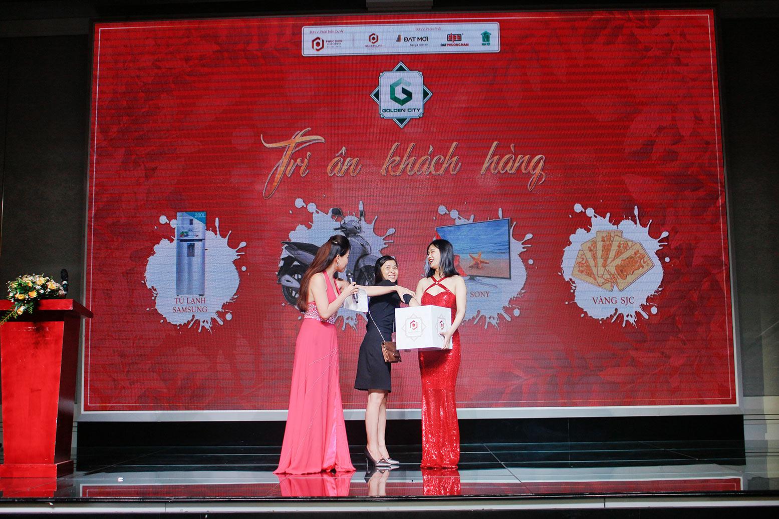 Hơn 90% giao dịch thành công tại buổi lễ công bố giai đoạn 1 KDC Golden City 10