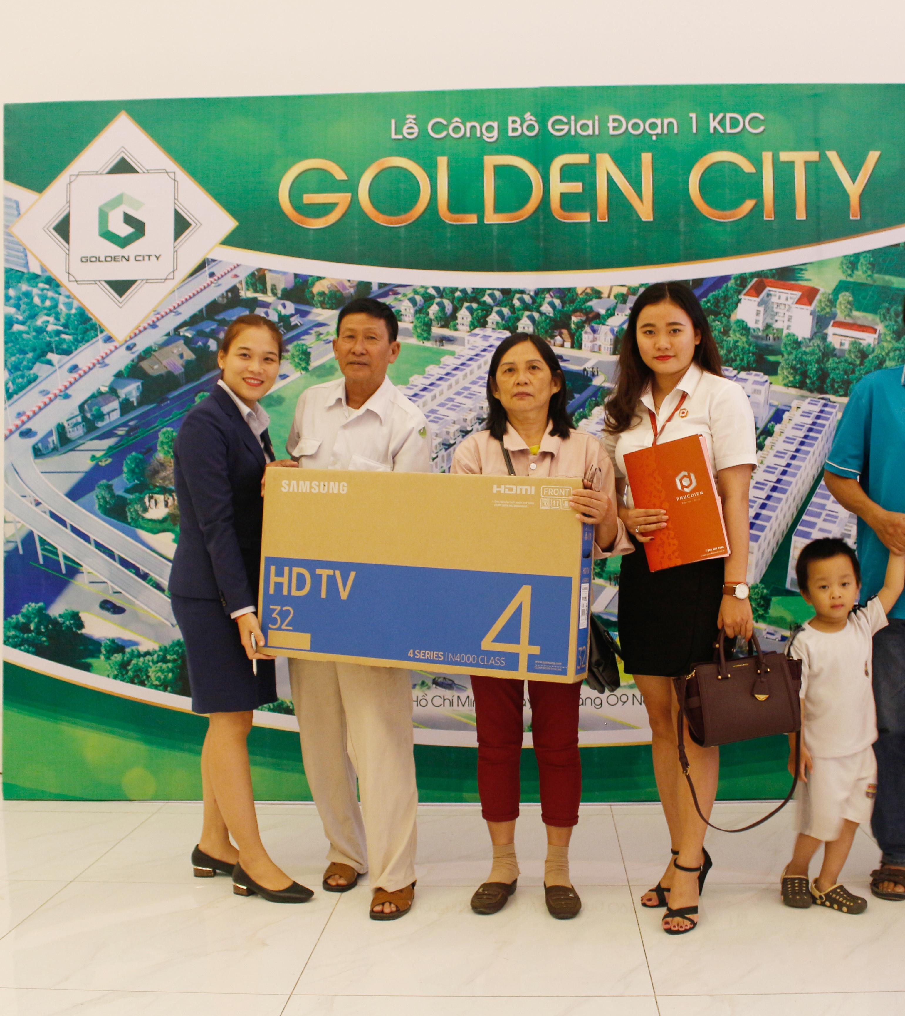 Hơn 90% giao dịch thành công tại buổi lễ công bố giai đoạn 1 KDC Golden City 11