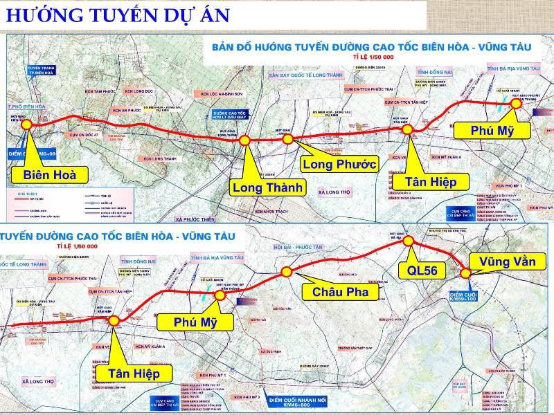Cao tốc Biên Hòa- Vũng Tàu dự kiến hoàn thành năm 2025 1